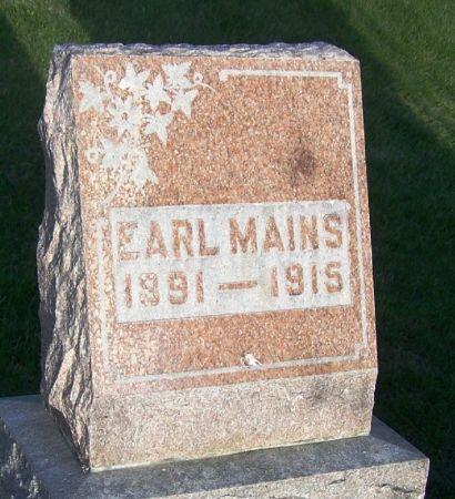 MAINS, EARL - Guthrie County, Iowa | EARL MAINS