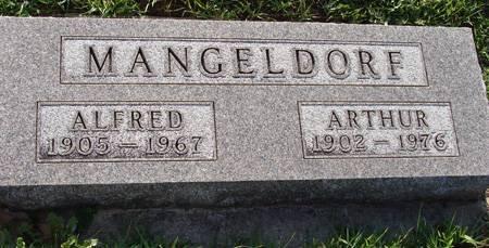 MANGELDORF, ALFRED - Guthrie County, Iowa | ALFRED MANGELDORF