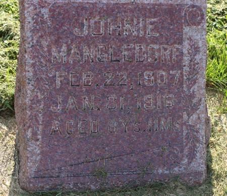 MANGLEDORF, JOHNIE - Guthrie County, Iowa | JOHNIE MANGLEDORF