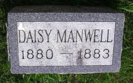 MANWELL, DAISY - Guthrie County, Iowa | DAISY MANWELL
