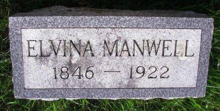 MANWELL, ELVINA - Guthrie County, Iowa   ELVINA MANWELL