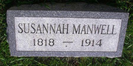 MANWELL, SUSANNAH - Guthrie County, Iowa | SUSANNAH MANWELL