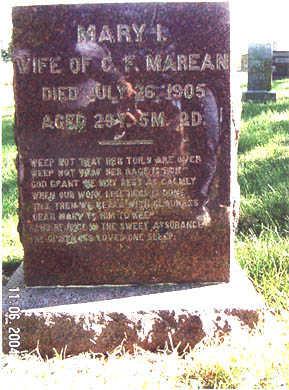 ARTIST MAREAN, MARY IRENE - Guthrie County, Iowa | MARY IRENE ARTIST MAREAN
