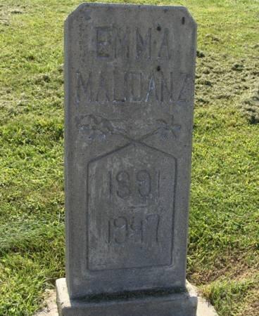 MAUDANZ, EMMA - Guthrie County, Iowa | EMMA MAUDANZ