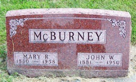 MCBURNEY, JOHN W. - Guthrie County, Iowa | JOHN W. MCBURNEY