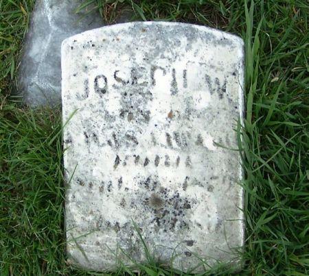 MCCARL, JOSEPH W. - Guthrie County, Iowa | JOSEPH W. MCCARL