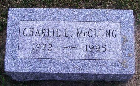 MCCLUNG, CHARLIE E. - Guthrie County, Iowa | CHARLIE E. MCCLUNG