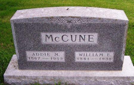 MCCUNE, WILLIAM E. - Guthrie County, Iowa | WILLIAM E. MCCUNE