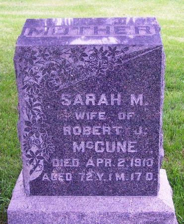 MCCUNE, SARAH M. - Guthrie County, Iowa | SARAH M. MCCUNE