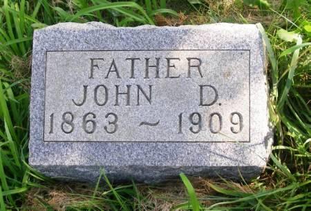 MCNARY, JOHN D. - Guthrie County, Iowa   JOHN D. MCNARY