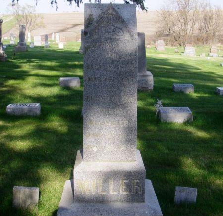 MILLER, ELIZABETH ANN - Guthrie County, Iowa   ELIZABETH ANN MILLER