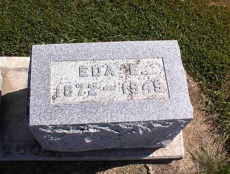 MILLER, EDA E - Guthrie County, Iowa   EDA E MILLER