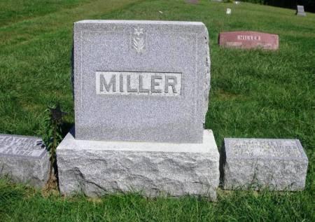 MILLER, JACOB K.  FAMILY STONE - Guthrie County, Iowa | JACOB K.  FAMILY STONE MILLER