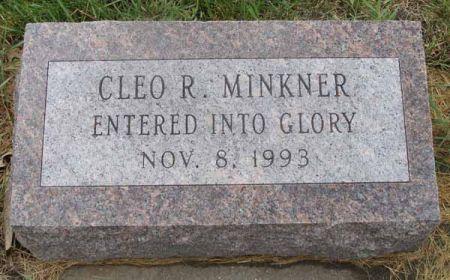 MINKNER, CLEO R. - Guthrie County, Iowa   CLEO R. MINKNER