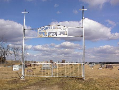 MOFFITT'S GROVE (NEW SIGN), CEMETERY - Guthrie County, Iowa | CEMETERY MOFFITT'S GROVE (NEW SIGN)