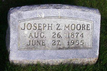 MOORE, JOSEPH Z. - Guthrie County, Iowa   JOSEPH Z. MOORE