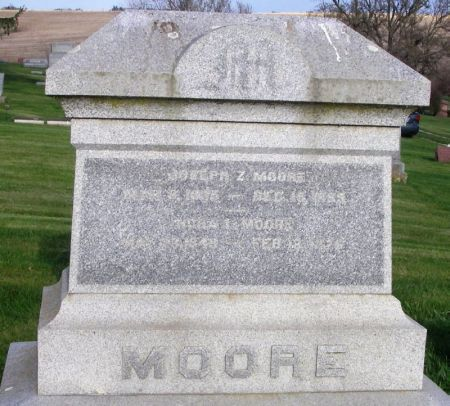 MOORE, NORA L. - Guthrie County, Iowa   NORA L. MOORE