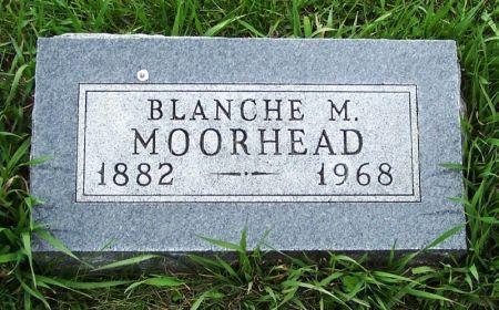 MOORHEAD, BLANCHE M. - Guthrie County, Iowa | BLANCHE M. MOORHEAD