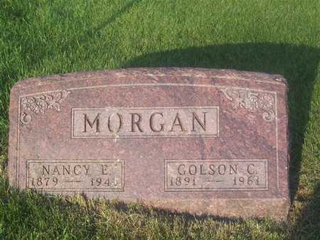 MORGAN, NANCY ELIZABETH - Guthrie County, Iowa | NANCY ELIZABETH MORGAN