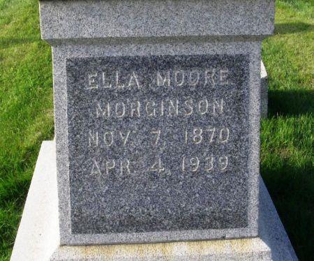 MOORE MORGINSON, ELLA - Guthrie County, Iowa | ELLA MOORE MORGINSON