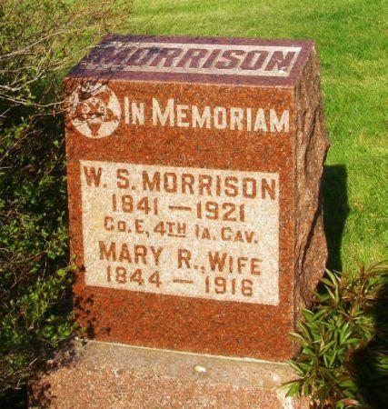 MORRISON, MARY R. - Guthrie County, Iowa   MARY R. MORRISON