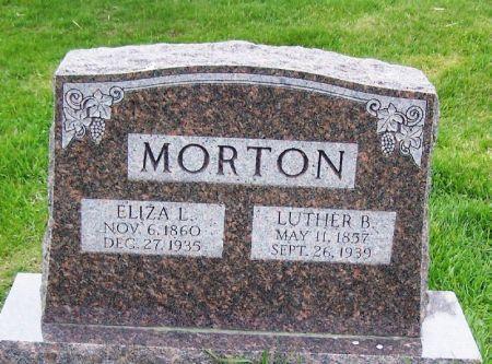 MORTON, ELIZA L. - Guthrie County, Iowa | ELIZA L. MORTON