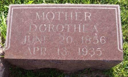 MUELLER, DOROTHEA - Guthrie County, Iowa | DOROTHEA MUELLER