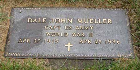 MUELLER, DALE JOHN - Guthrie County, Iowa   DALE JOHN MUELLER
