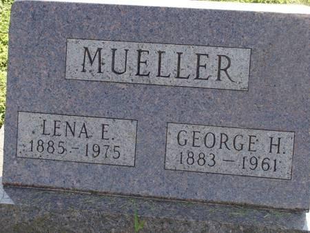 MUELLER, LENA E - Guthrie County, Iowa | LENA E MUELLER
