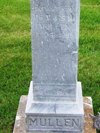 MULLEN, INFANT - Guthrie County, Iowa   INFANT MULLEN