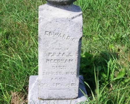 NEEDHAM, EDWARD C. - Guthrie County, Iowa | EDWARD C. NEEDHAM