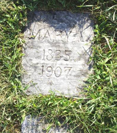 NIESS, MARY L - Guthrie County, Iowa   MARY L NIESS