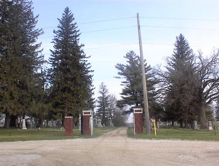 NORTH OAK GROVE, CEMETERY - Guthrie County, Iowa | CEMETERY NORTH OAK GROVE