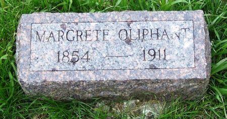 OLIPHANT, MARGRETE - Guthrie County, Iowa | MARGRETE OLIPHANT