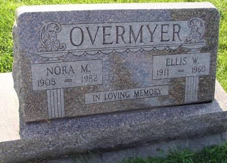 OVERMYER, ELLIS W - Guthrie County, Iowa | ELLIS W OVERMYER