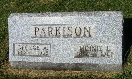 PARKISON, GEORGE A. - Guthrie County, Iowa | GEORGE A. PARKISON