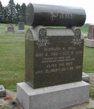 PAUL, HERMANN A - Guthrie County, Iowa | HERMANN A PAUL