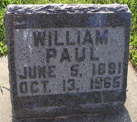PAUL, WILLIAM - Guthrie County, Iowa | WILLIAM PAUL