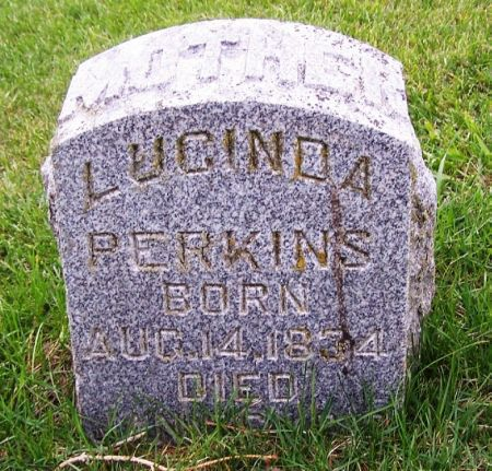 PERKINS, LUCINDA - Guthrie County, Iowa   LUCINDA PERKINS