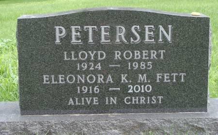 PETERSEN, LLOYD ROBERT - Guthrie County, Iowa   LLOYD ROBERT PETERSEN