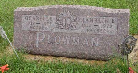 GUSTIN PLOWMAN, OCABELLE - Guthrie County, Iowa | OCABELLE GUSTIN PLOWMAN