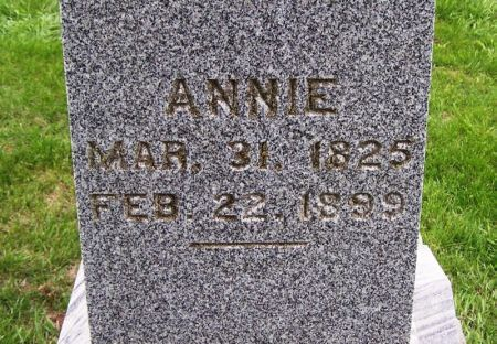 POTE, ANNIE - Guthrie County, Iowa | ANNIE POTE