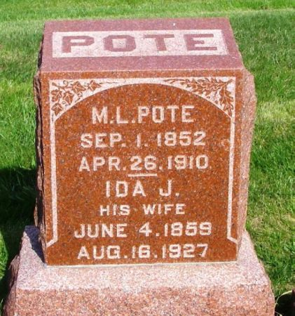 POTE, M.L. - Guthrie County, Iowa | M.L. POTE