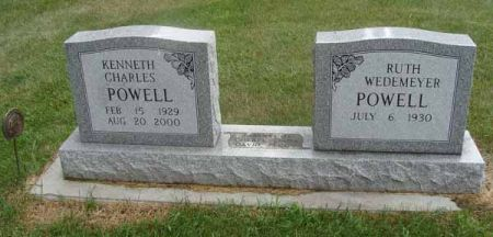 POWELL, KENNETH CHARLES - Guthrie County, Iowa   KENNETH CHARLES POWELL
