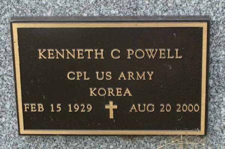 POWELL, KENNETH C. - Guthrie County, Iowa | KENNETH C. POWELL