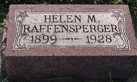 RAFFENSPERGER, HELEN M - Guthrie County, Iowa   HELEN M RAFFENSPERGER