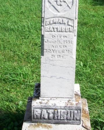 RATHBUN, HEMAN L. - Guthrie County, Iowa   HEMAN L. RATHBUN