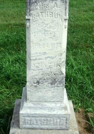 RATHBUN, MRS. A. - Guthrie County, Iowa | MRS. A. RATHBUN