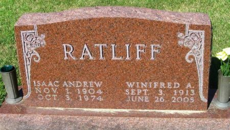 RATLIFF, WINIFRED A. - Guthrie County, Iowa   WINIFRED A. RATLIFF