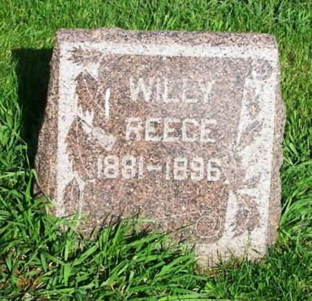 REECE, WILLY - Guthrie County, Iowa | WILLY REECE